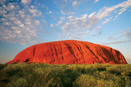 Ayers Rock, Australia // I've been to Australia twice, and still never seen this. ...Guess I'll have to go back!