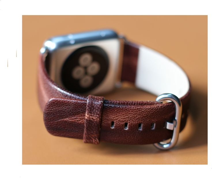 Yatale Genuine Leather Watchband for Promotion, Apple Watch Band Leather,genuine Leather Band Cuff Bracelet Leather Watchband with Adapter for Apple Iwatch (Double Brown38&42mm). Inspired by equestrian fixtures, the finely worked modern Cuff leather is adapted to allow the heart rate sensor to stay in contact with the wrist. Apple watch Cuff. Material:Genuine Leather. All Pattern are in stock. Lowest price for Promotion, Sell the watch band only, the Apple watch in pics is not included.