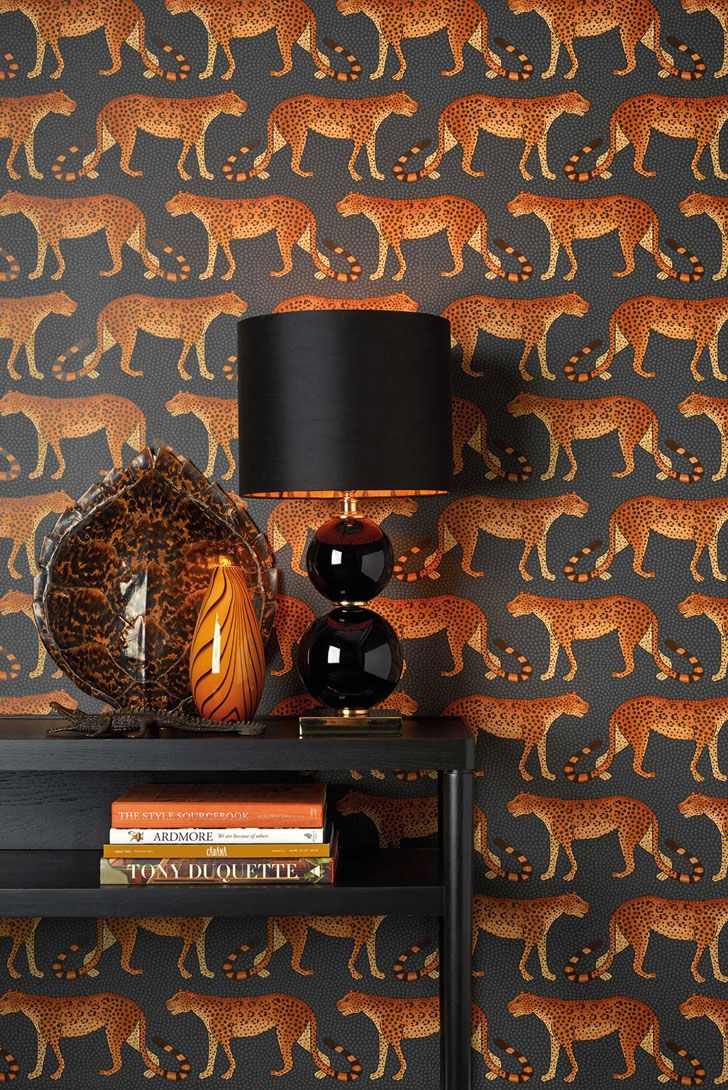 Dress up walls with textured paintable wallpaper called anaglypta - Eclectic Wallpaper Collection Ardmore By Cole Son