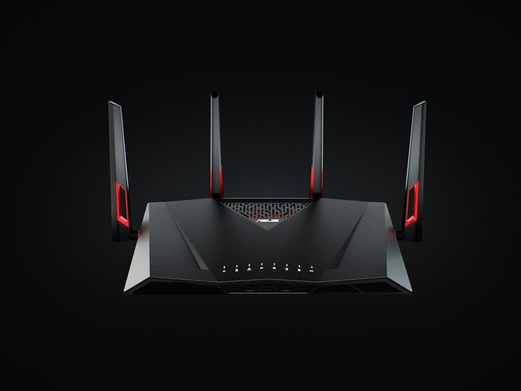 High-speed RT-AC88U AC3100 Dual-Band Wi-Fi Gigabit router: free WTFast® game accelerator for smooth online gaming, ASUS Router app for remote control.