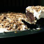 Heath Bar Poke Cake
