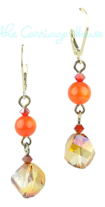 Emily Ray Crystal Star Earrings 79