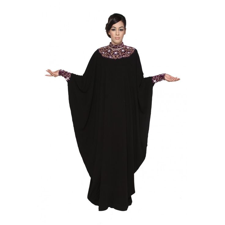 Regalia Cuffed Butterfly Abaya & Shayla | Akhawat London