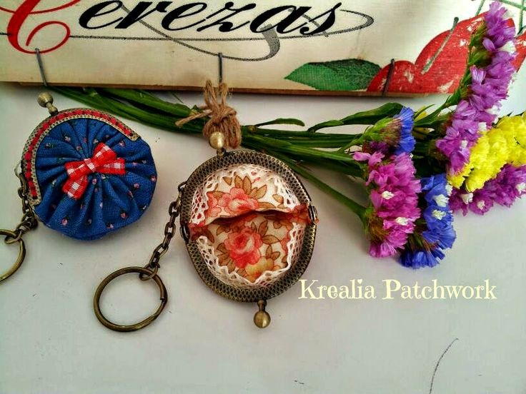 Lovely Patch: Monederos minis minis