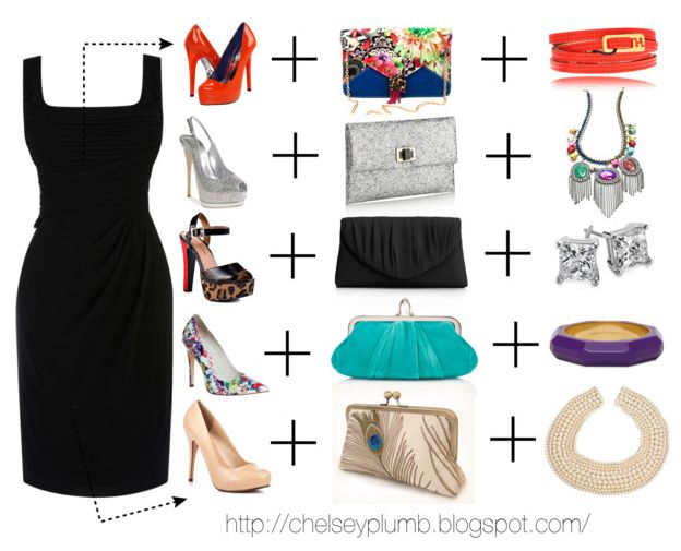 LITTLE BLACK DRESS ACCESSORIES - Nasha Bendes