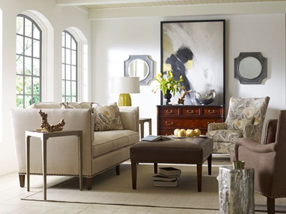 Mix it up, blend it and make your living room tell the story of you. Its about having fun and customizing each room to reflect your true loves of life. Taylor King makes it stylish!