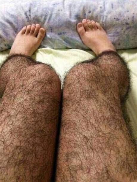 hairy leg stockings  These are so gross it is freaky!