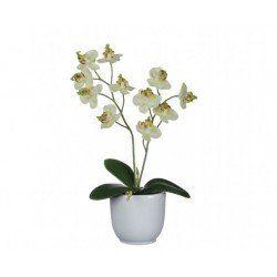 Orhidee artificiala in ghiveci H 25 cm