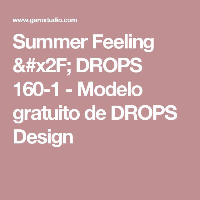 Summer Feeling / DROPS 160-1 - Modelo gratuito de DROPS Design