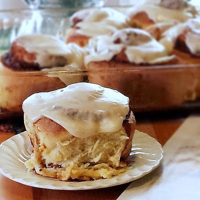 ... Big Fat Delicious Clone of a Cinnabon | how SWEETS of you! | Pinterest