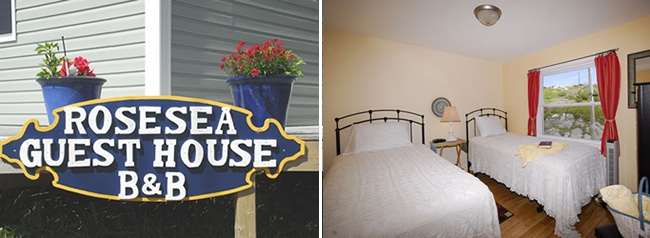 RoseSea Guest House, a charming Bed and Breakfast in RoseBlanche, Newfoundland