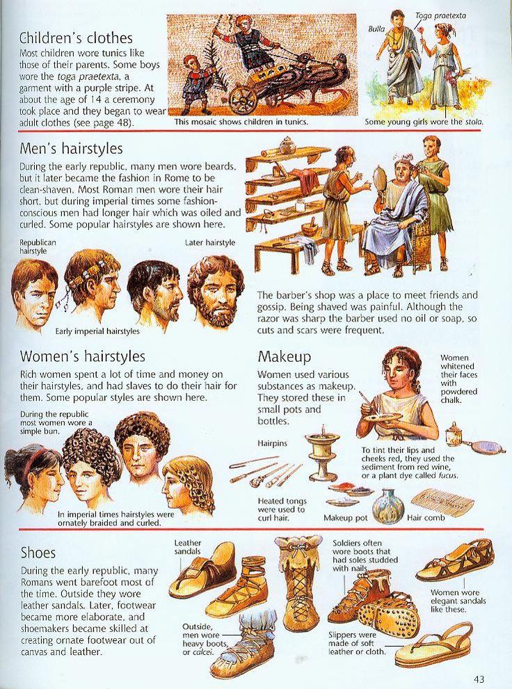 Vêtements romains