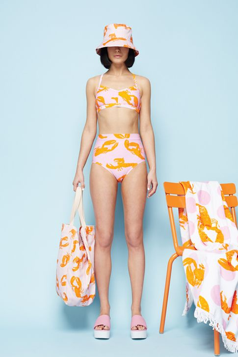 Slick prints Gorman Summer '14. #saltgypsyedit #styleinthelineup #bikinisforsurfing. Love this print, must get myself a towel for summer at the beach!
