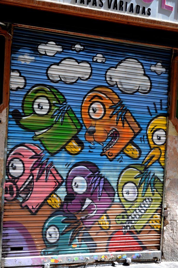 https://flic.kr/p/yBxdhH | Graffiti in Barcelona | Graffiti in Barcelona
