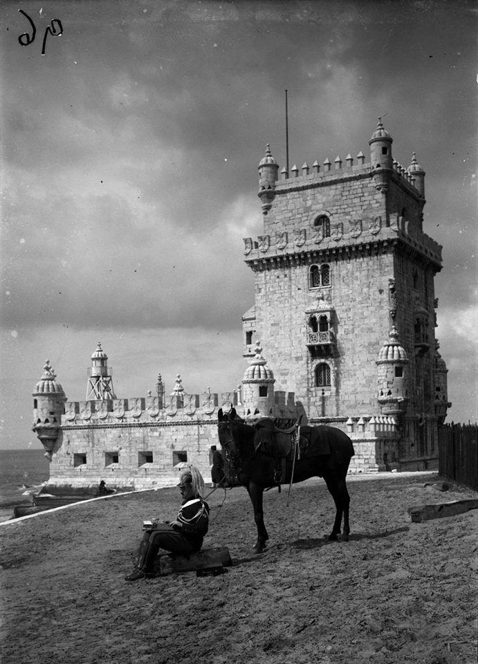 | Torre de Belém ( séc XX )Fotografia de: Ferreira da Cunha in A.M.L.