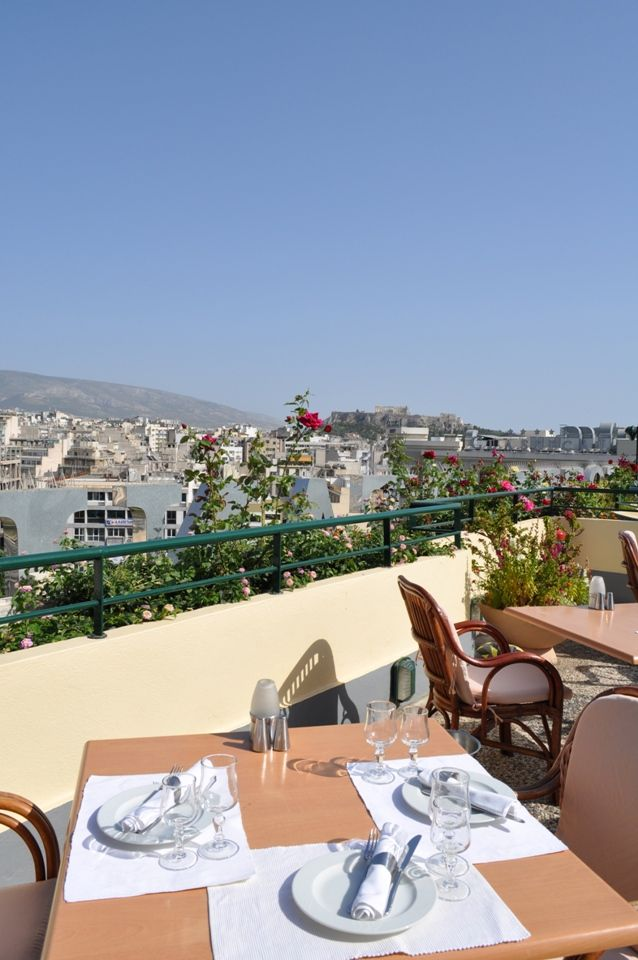 The #restaurant above all.  #Athens #TheStanley #Hotel