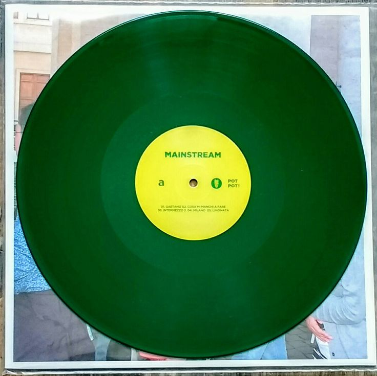 Calcutta - Mainstream (green LP) 2016
