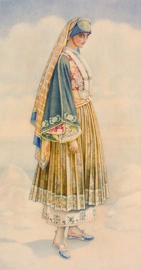 #65 - Bridal Costume (Aegean Islands, Skyros)