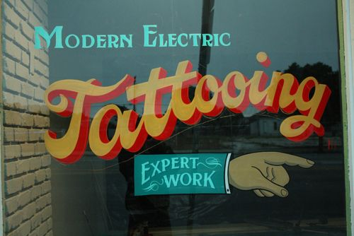 Modern Electric - Tattooing.