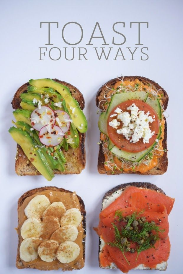 online free watch life styel and health tips picture and viedo: Toast: Four Ways