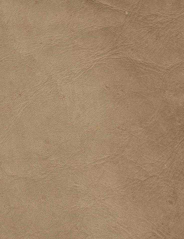 Alaska Parchment Fabric Vintage antique effect leather hide.