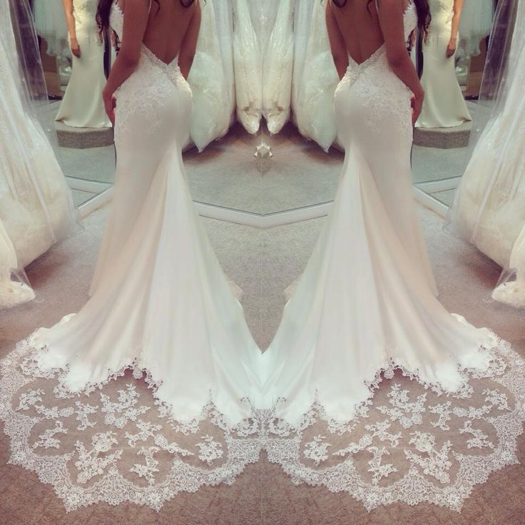 Wedding Dress Train Ideas : Best ideas about backless wedding dresses on