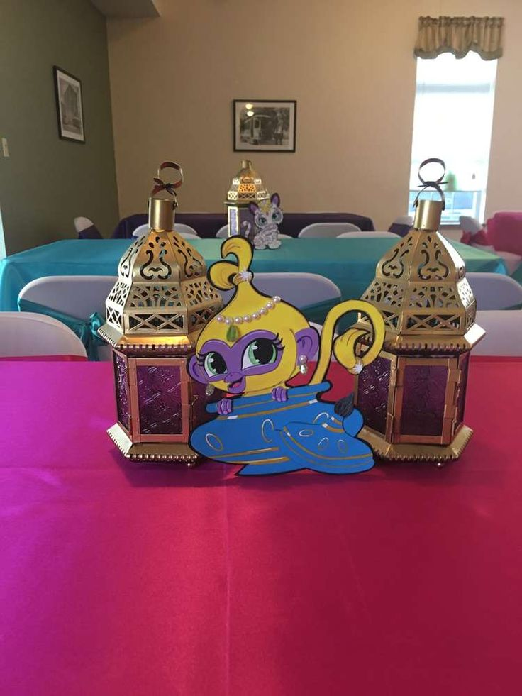 Shimmer and Shine Birthday Party Ideas | Photo 2 of 12