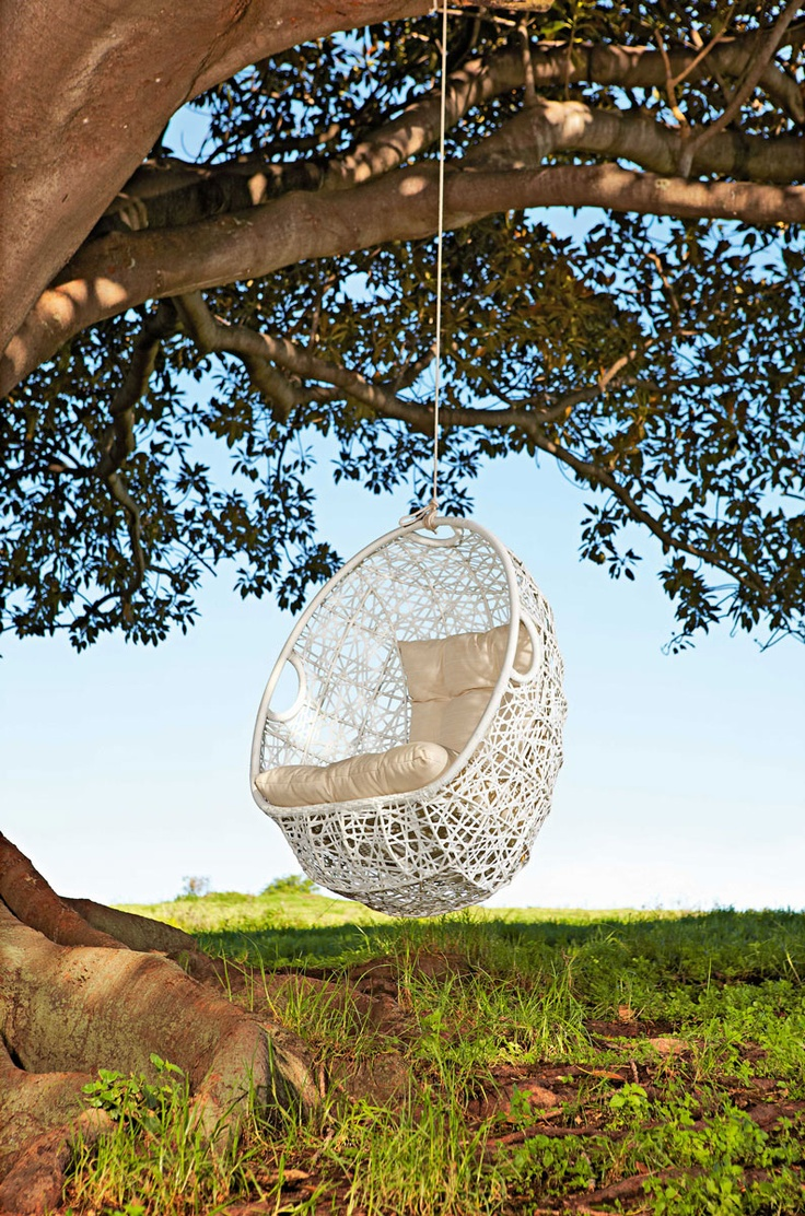 hanging furniture is perfect for relaxation and dreaming and weu0027ve already shared outdoor hanging beds for those who love