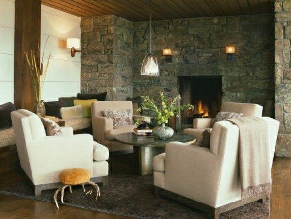 Die besten 25+ Ziegel tapete Ideen auf Pinterest Backstein - verblendsteine wohnzimmer grau