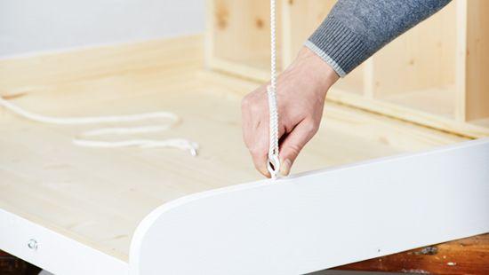 Himmlische Wickelkommode | DIY Projektanleitungen zum Selber Bauen | Bosch