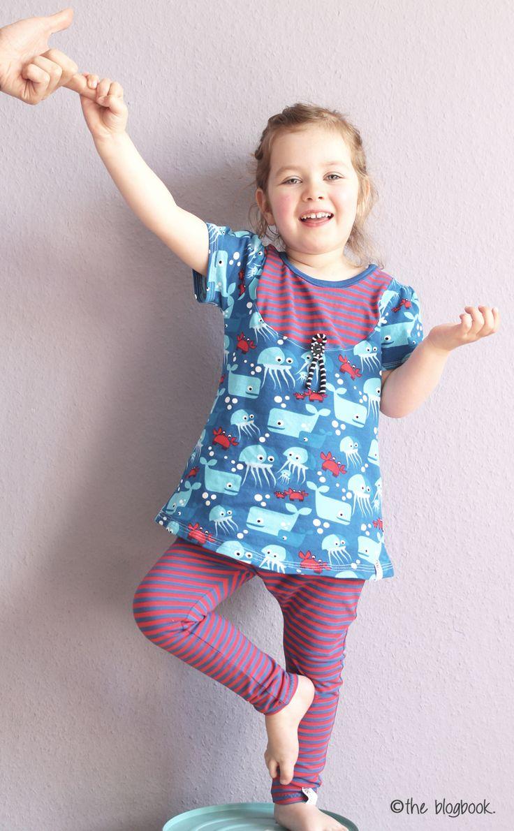 theblogbook | sewing | shirt and leggings, lillestoff, enemenemeins