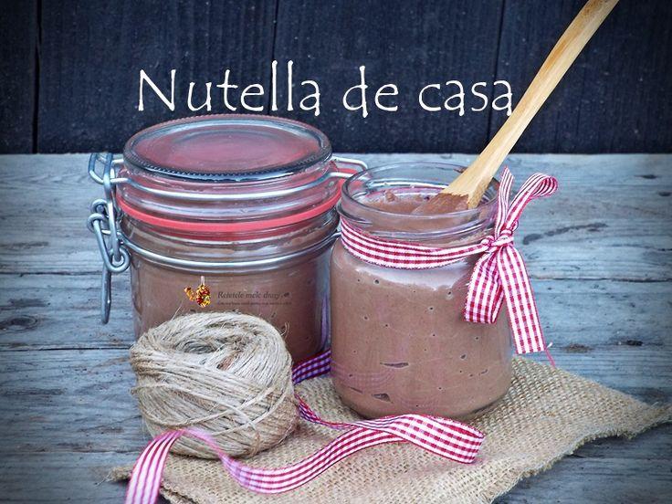 Nutella de casa--reteta fara ciocolata, lapte condensat si unt in compozitie
