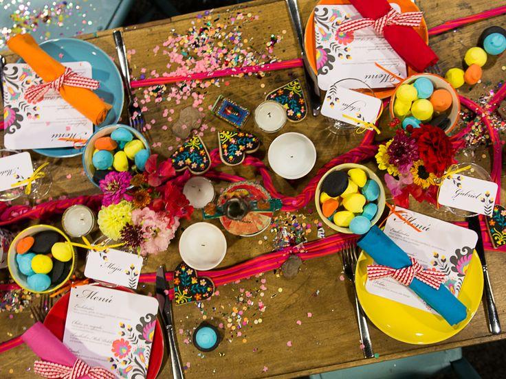 rhein weiss messe und showroom in Köln 2014 | Papeterie von das Papierlabor, fotografiert von Friederike Delong | konfetti, bunt, mexiko