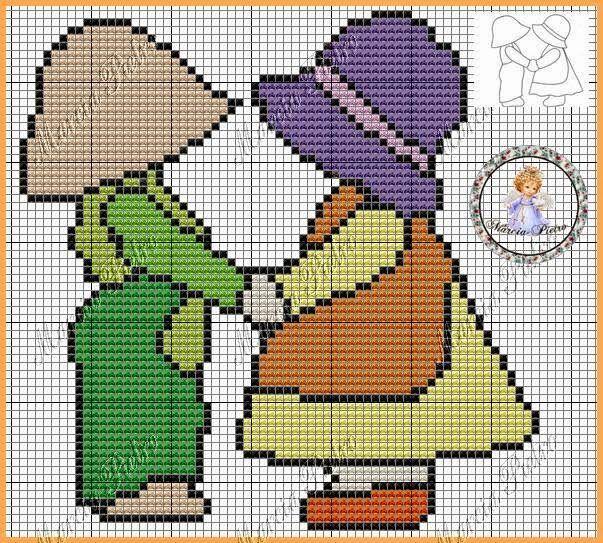 Ponto Cruz da Samsara: Mais gráficos de camponesas!