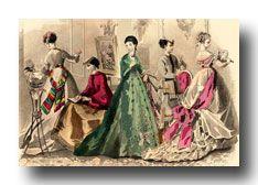 Viktorianska klänningar - en