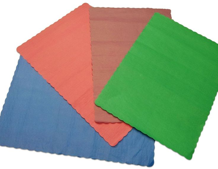 """Unique and Custom {10' x 14' Inch} in Bulk Pack Set of 100 Rectangle """"Flat and Smooth Texture"""" Assorted Large Table Placemats Made of Paper w/ Bright Party Design [Colorful Blue, Red, Burgundy and Green] * Remarkable product available now. : Food Service Equipment Supplies"""