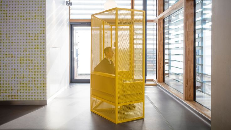 German designer Gitta Gschwendtner has created the furniture for a dedicated cancer treatment centre at Guy's Hospital in London, completed by Rogers Stirk Harbour + Partners earlier this year.