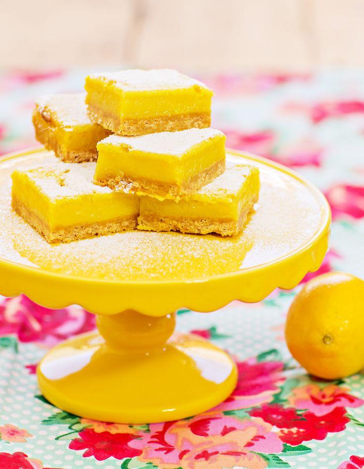 Lemon Shortbread Slice - Cooking with Tenina