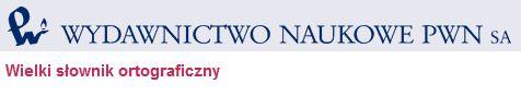 Wielki Słownik Ortograficzny PWN –  zawiera około 140 000 haseł – zarówno wyrazów polskich, jak i wyrazów obcych.