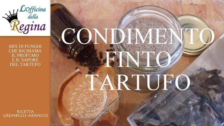 Condimento finto tartufo