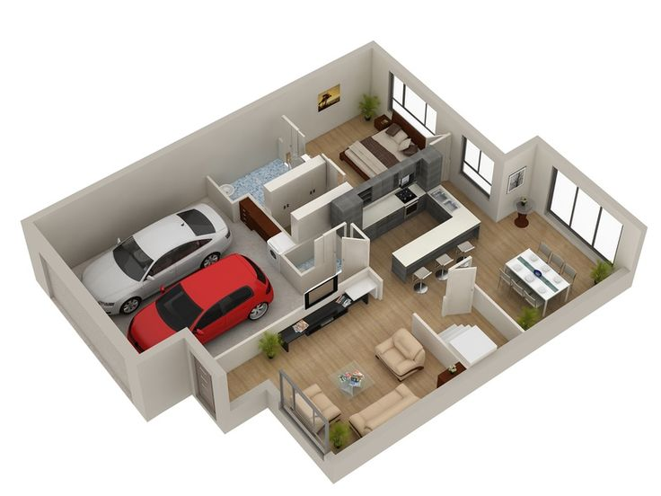 3D Gallery   Artist Impressions   3D Architectural Visualisation   3D  Architectural Rendering   3D Rendering  Small House Floor Plans3d. 72 best 3D House Plan images on Pinterest   3d house plans  Floor