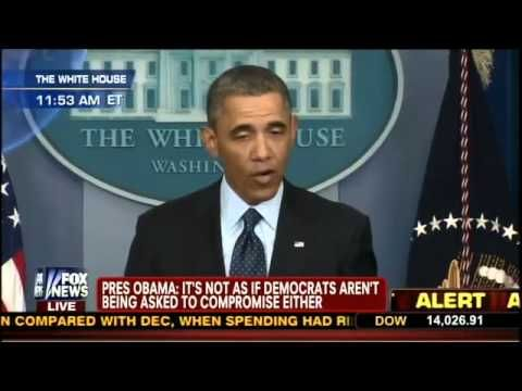 Reporter to Obama: Sounds Like You're Not Bearing Any Responsibility - During President Obama's press conference March 1, a reporter said it sounded like he was passing all the blame for the automatic cuts on to Republicans and assuming none of it for himself. ***Obama doing what he's Great at... Passing The Buckl!!!