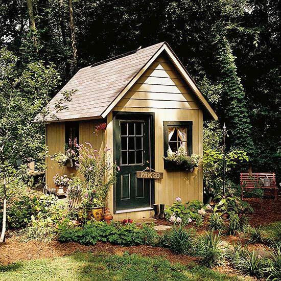 47 best images about outbuildings on pinterest gardens for Backyard cottage plans