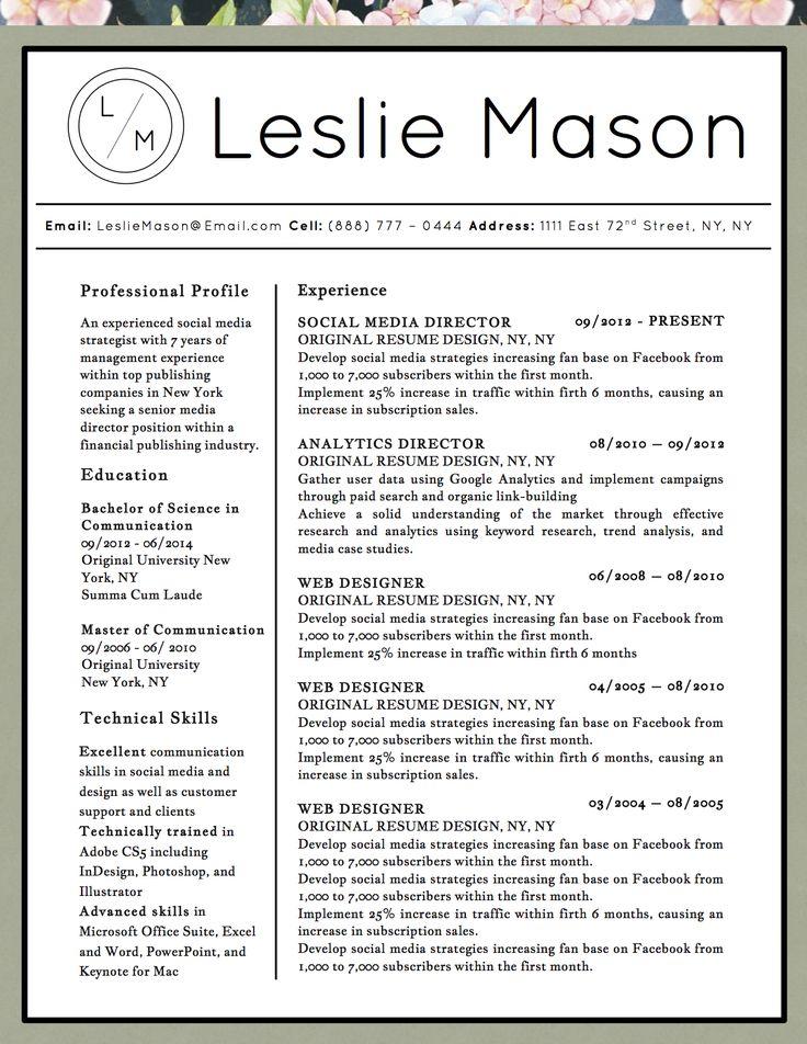 137 best Career images on Pinterest Resume, Career advice and Cv ideas