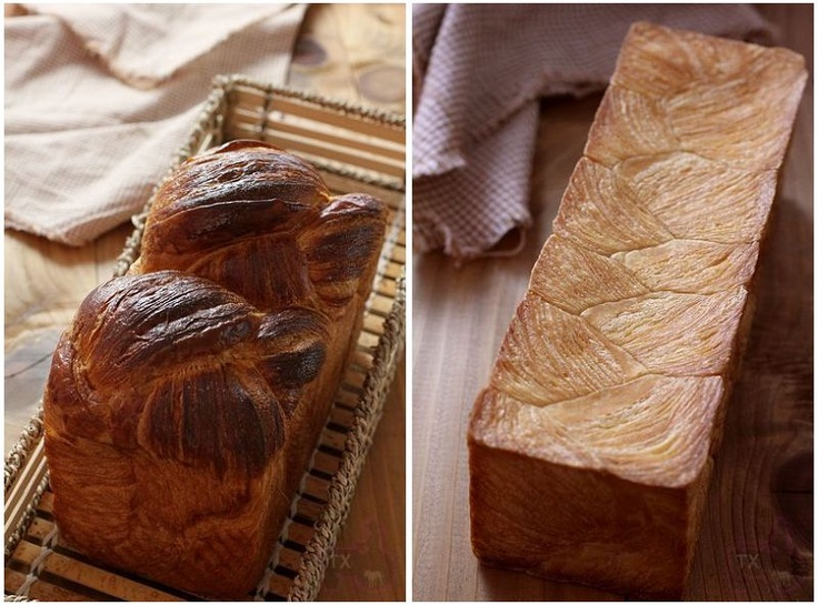 Danish and Asian Style Soft Sandwich bread, inheriting the best qualities of both parties: nice and crispy on the outside, soft inside, and full of buttery goodness...Croissant Bread Loaf.. MUST DO