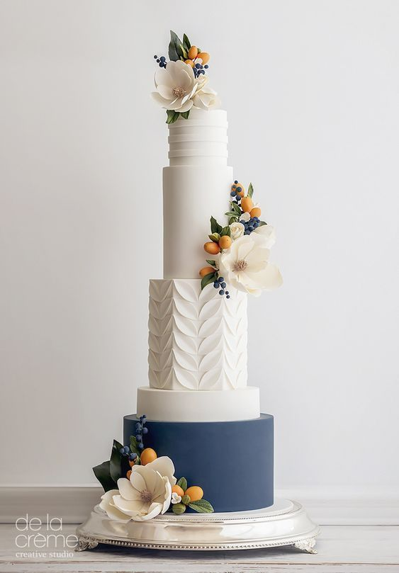 60 Elegant And Beautiful Wedding Cakes You'll Like – Page 2 of 60 – Cakewalk