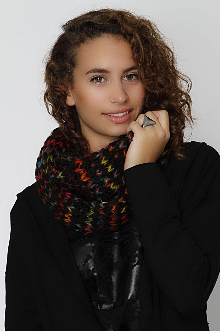 Multi knit snood