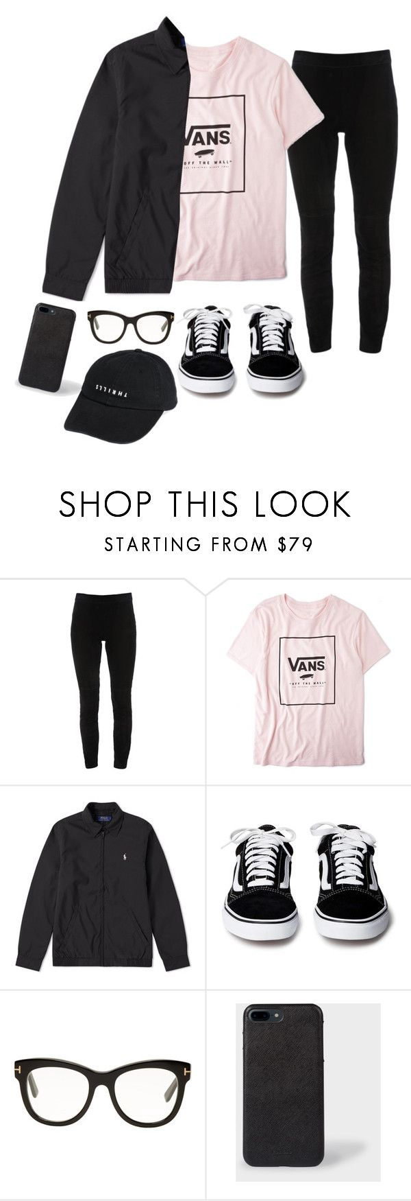 """""""Untitled #14"""" by hannahdowns14 on Polyvore featuring Elie Tahari, Vans, Tom Ford, Paul Smith and Thrills"""