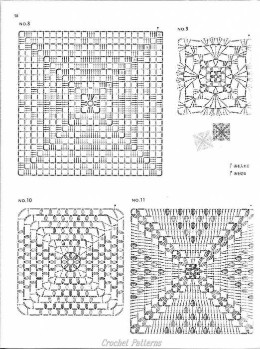 1000 images about crochet patterns diagrams on pinterest. Black Bedroom Furniture Sets. Home Design Ideas
