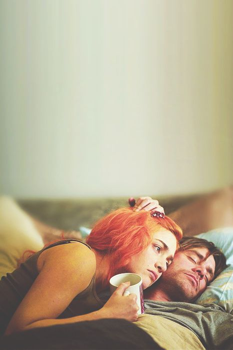 Eternal Sunshine of the Spotless Mind (2004) by Michel Gondry with Kate Winslet, Jim Carrey, Kirsten Dunst, Mark Ruffalo, Tom Wilkinson, Elijah Wood...